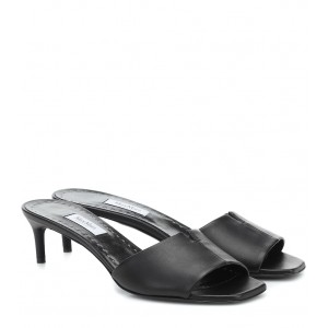 Max Mara Women's Shoes Marion leather sandals Casual P00447607