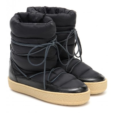 Isabel Marant Women Shoes Zimlee padded snow boots outfits P00488839