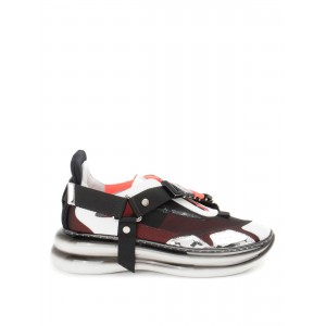 Loriblu Shoes Leather and fabric slip-on sneakers  1EXLA09600